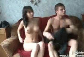 Армянская лесбиянка трахается с геем